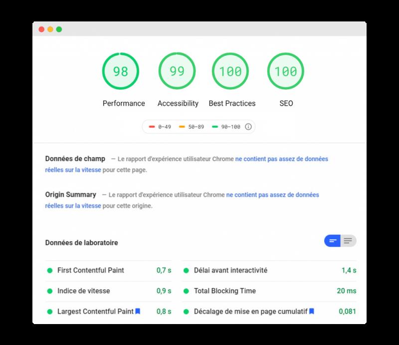 Performance rapport • Agence ISOMORPH