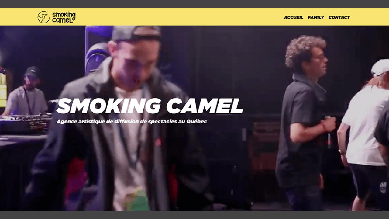 Smoking Camel • Agence ISOMORPH